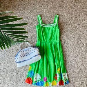 Malia Honolulu 60s floral vintage dress